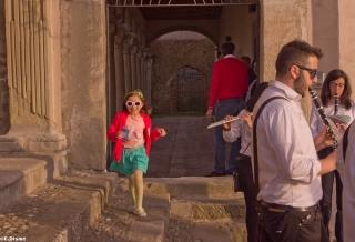 religious festival in Sant Angelo di Brolo